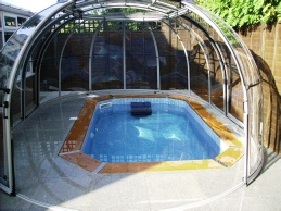 exercise pools in pool enclosures